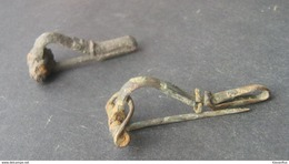 Ancient Roman Fibula Brooch - Rome - Europe 2000 Yrs Old - Archéologie