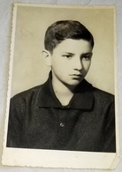 Vieille Photo, Old Photograph, Fotografía Antigua / Portrait D'un Garçon, Portrait Of A Boy, Retrato De Un Niño - Anonyme Personen
