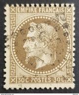 1863-1870, Emperor Napoléon Lll, 30c, Empire Française, France - 1863-1870 Napoleon III With Laurels