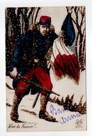 - CPA MILITAIRES - Vive La France 1917 - Série AAC 3004 - - Patriotiques