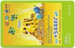 THAILAND A-079 Prepaid 1-2-call/AIS - Used - Thaïland