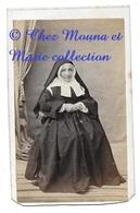 SOEUR NONNE RELIGIEUSE - CDV PHOTO COURAGEUX SENS YONNE - Anciennes (Av. 1900)
