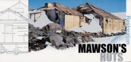 Australian Antarctic 1999 Restoration Of Mawson's Huts Presentation Pack - Unused Stamps