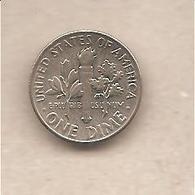 USA - Moneta Circolata Da 1 Dime - 1967 - Emissioni Federali