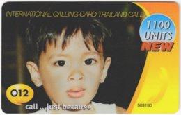 THAILAND F-025 Prepaid - People, Child - Used - Thaïland