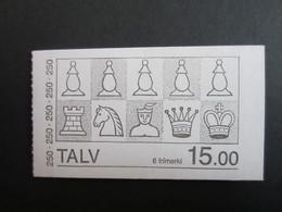 Faroe Islands 1984 , Booklet,  Facit HA3 ,  MNH  (NOT Complete) (Häften 1 - 1) - Féroé (Iles)