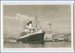 Y12327/ Dampfer Monte Rosa Vor Venedig Foto AK Ca.1935  - Dampfer