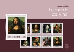 Austria (2019) Leonardo Da Vinci (500th Anniversary Of Death) - Folder [Marken Edition 8] - Celebrità