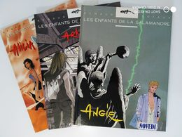 LES ENFANTS DE LA SALAMANDRE Lot T1-T2-T3  E.O. Neufs - Editions Originales (langue Française)