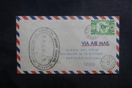 NOUVELLE CALÉDONIE - Enveloppe 1er Vol Nouméa / Tahiti En 1947 - L 39012 - Neukaledonien