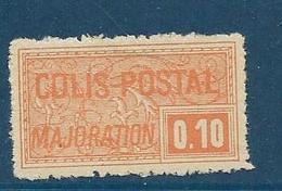 Timbre Neuf* France, N°77 Yt, Colis Postaux, Majoration, ,1926, 0.10, Charnière, - Colis Postaux