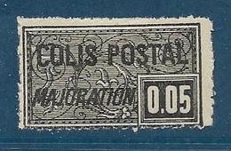 Timbre Neuf* France, N°15 Yt, Colis Postaux, Majoration, ,1918, 0.05, Charnière, - Colis Postaux