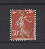 FRANCE.  YT   N° 160  Neuf **  1921 - 1906-38 Semeuse Camée