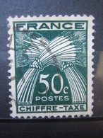 FRANCE    TIMBRE TAXE  N° 69 - OBLITERE - Taxes
