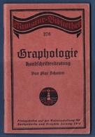 Petit Livret Allemand 1914 Graphologie Handschriftbedeutung - Alte Bücher