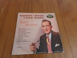 Disque 33 T Songs I Wish I Had Sung - Other - English Music