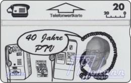 AUSTRIA Private: *PTV-Weismann, 40 Jahre* - SAMPLE [ANK P141] - Oesterreich