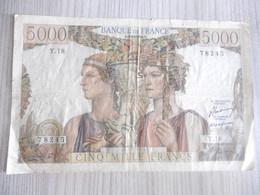 BILLET 5000 FRANCS-DU 10-03-1949-N°78245/Y.18 - 1871-1952 Anciens Francs Circulés Au XXème