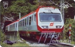 """TWK Österreich Privat: """"VDPH - Eisenbahner, 75 Jahre"""" Gebr. - Autriche"""