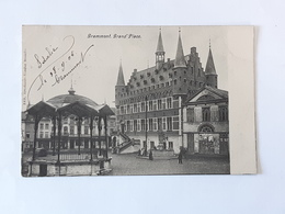 Carte Postale Grammont Geraardsbergen - Grand'place ... BT13 . - Geraardsbergen