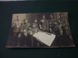 Carte Postale Photographie Soldat Militaire Guerre 14/18 Allemagne - Guerre 1914-18