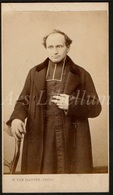Photo Ancien / Carte De Visite / CDV / Priest / Prêtre / Priester / Photographer / H. Van Marcke / Bruges / Brugge - Photos