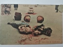 Tientsin-Peking, Beheaded Looter, Geköpfter Räuber, 1912 - China