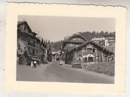 Mégève - Savoie - 1952 - Photo 7 X 10 Cm - Lieux