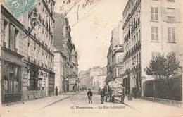 VINCENNES - LA RUE LEJEMPTEL - Vincennes