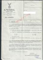 PORTUGAL ASSURANCE LETTRE DE A MONDIAL COMPAGNIA DE SEGUROS LISBOA X PORTO 1968 POUR VILA DO CONDE : - Portugal