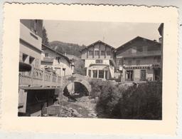 Mégève (Savoie) - Café-Terrasse - 1952 - à Situer - Photo 7 X 10 Cm - Lieux