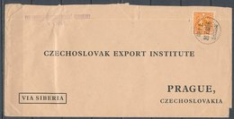 CHINA - 26.7.1938  Cover To PRAGUE (Tchecoslovaqiue) - China