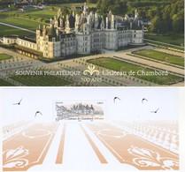 BLOC SOUVENIR 500 Ans: CHÂTEAU DE CHAMBORD** SOUS BLISTER  NON OUVERT. VOIR SCAN - Foglietti Commemorativi