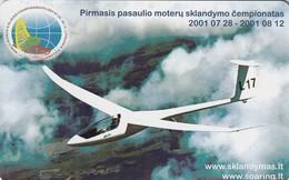 LITUANIA. CHIP. DEPORTES. Women Gliding Championhip. LT-LTV-C071. (014). - Deportes