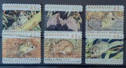 AUSTRALIA 1992 - Canceled - Mi 1273-1278 - Threatened Species - 1990-99 Elizabeth II