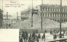 Venezia (Veneto) Rovine Campanile Di San Marco Crollato Il 14 Luglio 1902, Riproduzione D24, Reproduction - Venezia