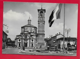 CARTOLINA VG ITALIA - LEGNANO (MI) - Piazza S. Magno - 10 X 15 - 1960 - Legnano