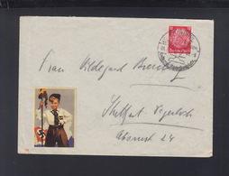 Dt. Reich Brief 1940 Vignette HJ - Duitsland