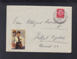 Dt. Reich Brief 1940 Vignette HJ - Allemagne