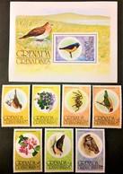 # Grenada Grenadines 1976**Mi.149-56 Flora And Fauna  , MNH [20;93] - Vögel