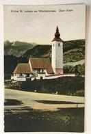 AK  SLOVENIA    BOHINJSKO JEZERO   KIRCHE ST. JOHANN AM WOCHEINERSEE   OBER KRAIN - Slowenien