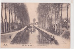 CPA - 448. BOURGES  -  Le Canal Du Berry - Vierzon