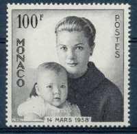 NB - [73755]TB//**/Mnh-c:13e-N° 489, 100F Noir, Naissance Du Prince Albert. - Unused Stamps