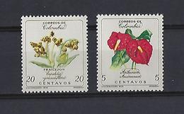 Colombie: 579/580 **  Fleurs - Colombie