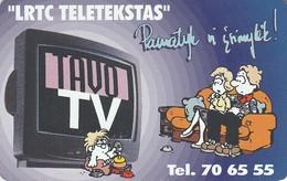 LITUANIA. CHIP. Tavo Tv. LT-LTV-C005. (070). - Lituania