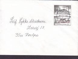 Denmark Brotype IId SKOVLUNDE 1994 Cover Brief VÆRLØSE Fredensborg & Amalienborg Castles Stamps - Danimarca