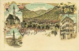 Bolzano (Alto Adige) Gruss Aus Bozen, Riproduzione D32, Reproduction, Illustrazione - Bolzano (Bozen)