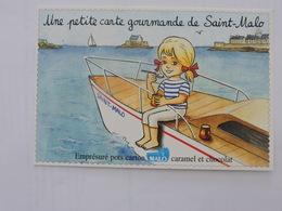 LAITERIE DE SAINT-MALO - Claire Fait Du Bateau  Ref 0366 - Publicité