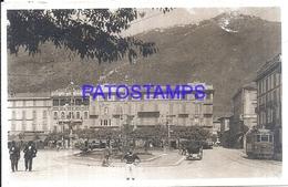 117841 ITALY COMO LOMBARDIA SQUARE CAVOUR & TRAMWAY  POSTAL POSTCARD - Italie