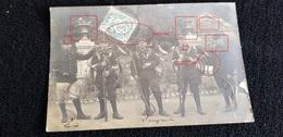 Cpp 54 Meurthe Et Moselle LONGWY Ou Env ? Groupe Chasseurs Cyclistes GCC Du 9è BCP Bataillon A Pieds / Fronton 1877 - Non Classificati